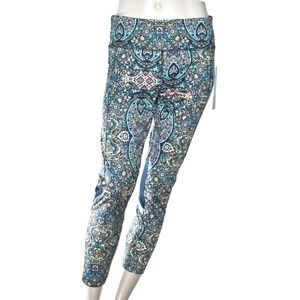 VOGO Athletica Blue Multicolor Leggings Sz S, M, L